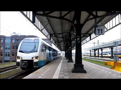 treinen op station Hengelo!