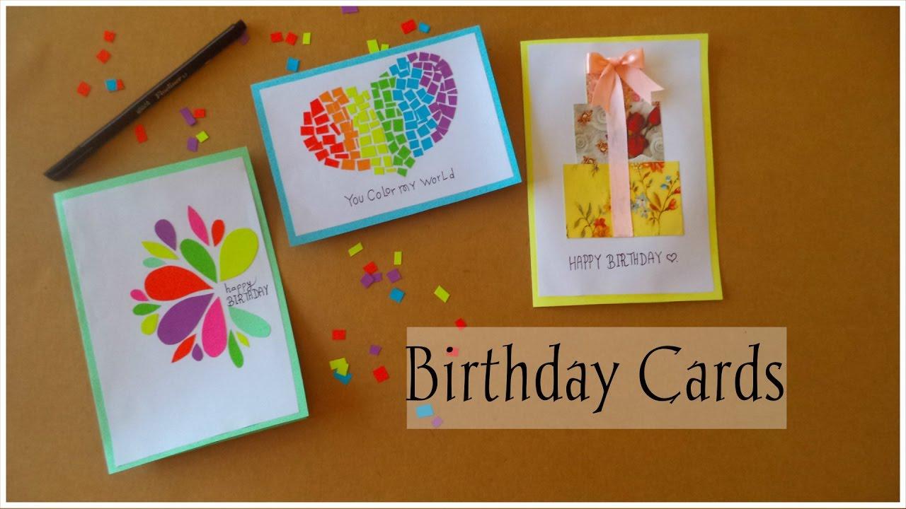 DIY Birthday Cards – Diy Birthday Cards
