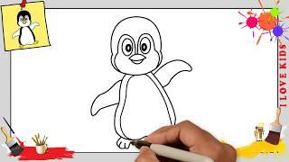 Kawaii Pinguin Zeichnen Schritt Fur Schritt Website Hang đầu Về