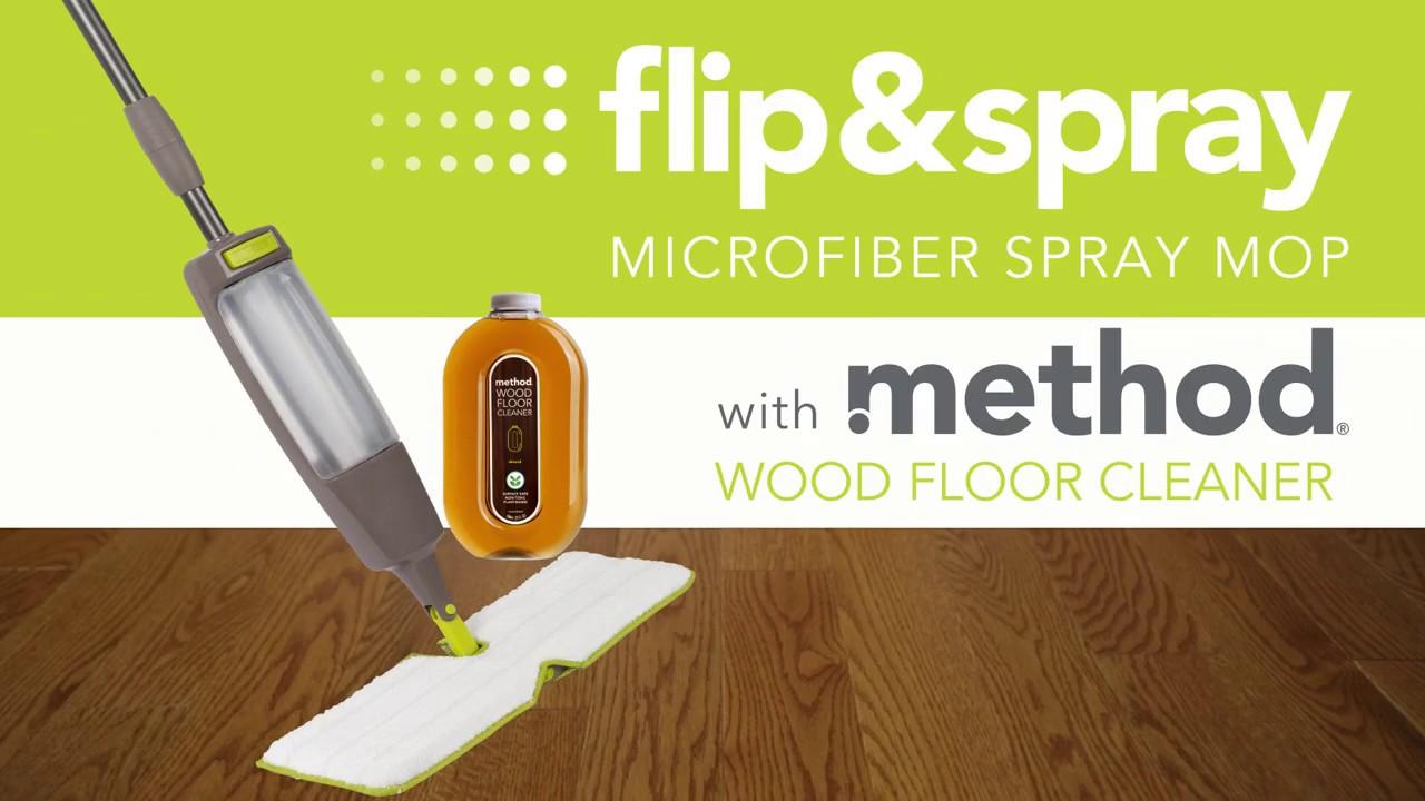 Flip Spray Microfiber Mop