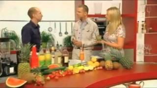 Deutsche Cocktailmeisterschaft - der Vize-Meister im Show Mixen bei ZDF