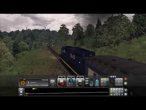 Train Simulator: B&O Kingwood Branch - Passenger Train 4 - Tunnelton to Mountain View Crossing