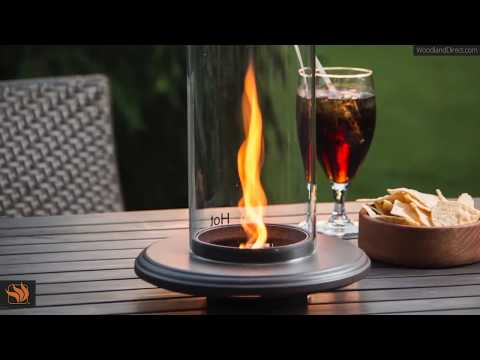 How to make a tabletop gas fire pit