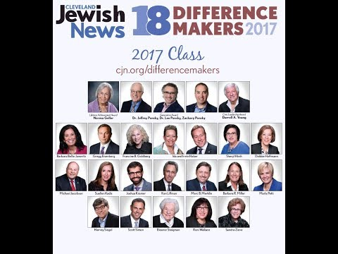 The Cleveland Jewish News 18 Difference Makers 2017