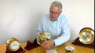 How to Set Your 8 Day Wind Ship's Bell Clock