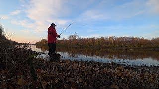 Рыбалка осенью на фидер 2019