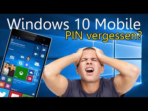 Windows 10 Mobile - Pin vergessen? Kein Problem!
