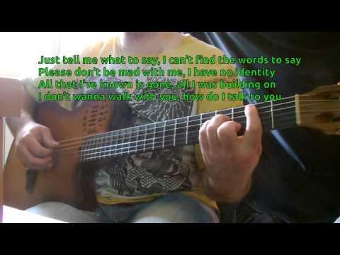 Lauryn Hill - I Gotta Find Peace Of Mind KARAOKE GUITAR REQUEST