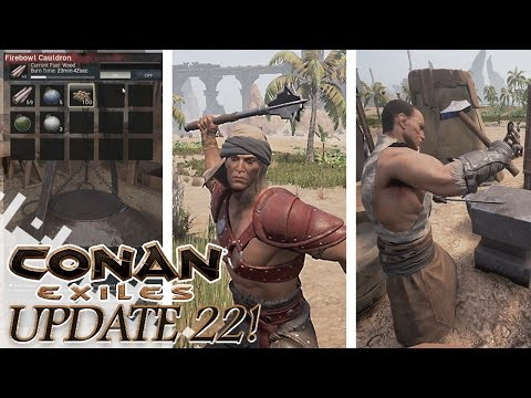 Conan Exiles Update! - New Weapons, Dyes And More!