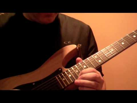 RATT Round and Round solo lesson Part1