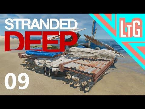 Lets Build A Barge - EP9 (Stranded Deep)