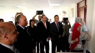 بالفيديو ..عبد العاطي يزور مدرسة المتفوقين بالمعادي