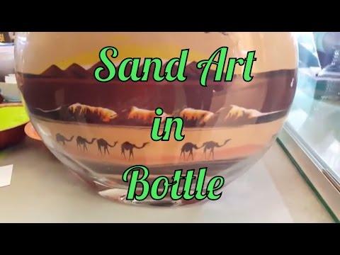 Watch Sand Artist at work, live at  Ibn Batuta Mall in Dubai