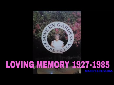 REWIND IN MEMORY OF MY MAMA AT SUNKEN GARDENS