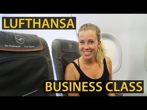 LUFTHANSA BUSINESS CLASS | A319 & A320 Flight Reviews