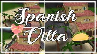 Spanish Villa| Roblox Bloxburg
