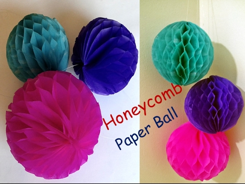Paper honeycomb ball honeycomb ball how to make honeycomb pom paper honeycomb ball honeycomb ball how to make honeycomb pom pom wedding decoration ideas mightylinksfo