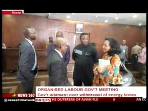 News360 - Gov't adamant over withdrawal of energy levies - 21/1/2016