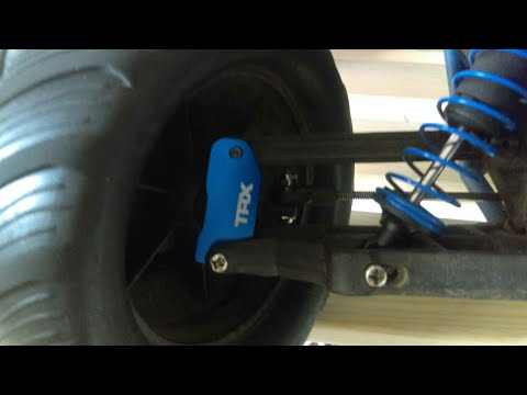 Traxxas Skully Aluminum Caster Blocks And Other Upgrades