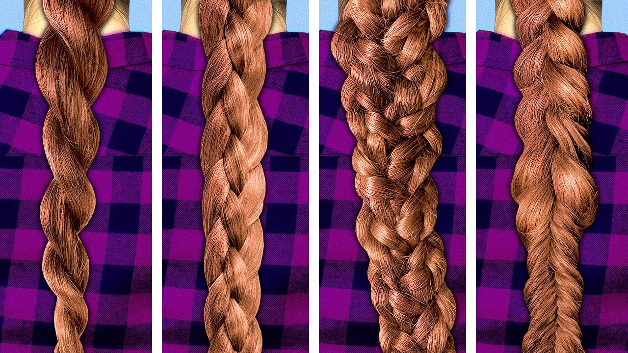 20 EASY HAIRSTYLES TO MAKE IN 5 MINUTES