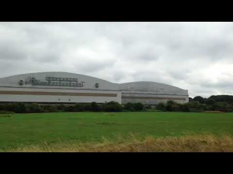 A View Of The Brabazon Hangars From The Former Filton Airfield Runway