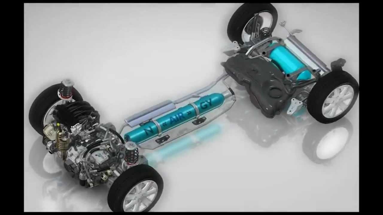 psa peugeot citroën hybrid air | autocosmos - youtube