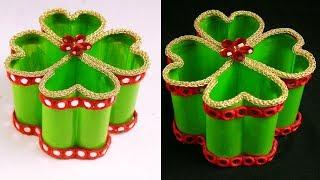 DIY Sprite Bottle Recycling Ideas - Plastic Bottle Organizer - Plastic Bottle Recycling Ideas