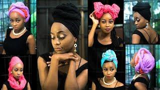 Mitindo 11 ya kufunga vilemba / headscarfs