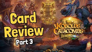 Rogue Secrets & New Legendaries - Kobolds Card Review Part 3 - Hearthstone