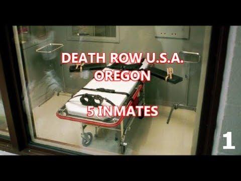 OREGON'S DEATH ROW - 5 INMATES #1