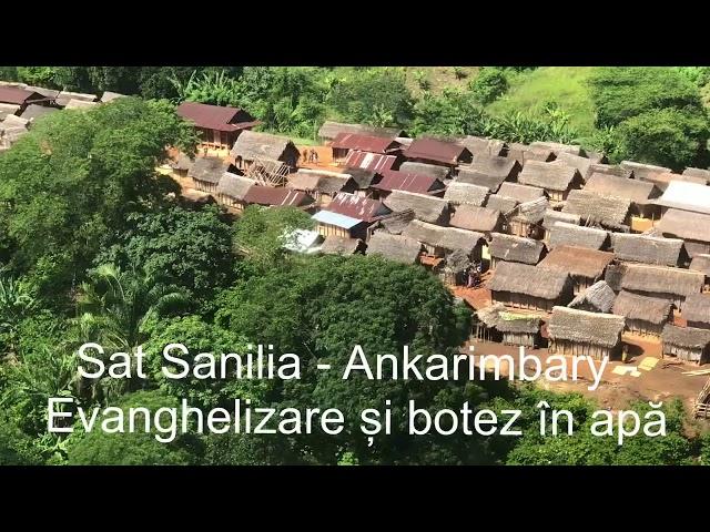 Evanghelizare și botez în apă în Sanilia - Ankarimbary