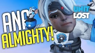 Overwatch - Ana the ALMIGHTY! (Nade NERF Comi...