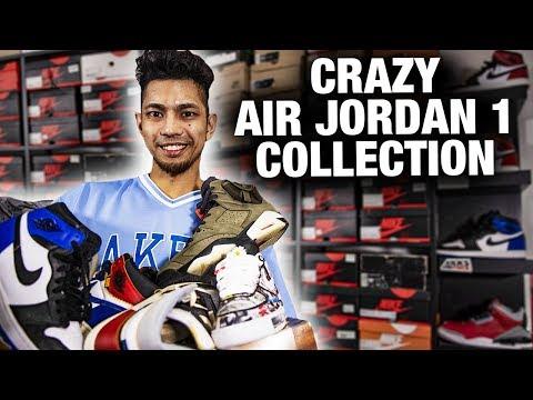 CRAZY Air Jordan Sneaker Collection In Canada (Raindoria) Ep 1 of 2