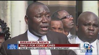 Family of Corey Jones said he was shot three times