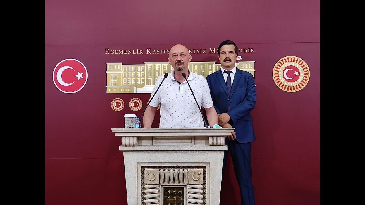 Murat Oğraş ve Erkan Baş Ortak Basın Toplantısı Düzenledi