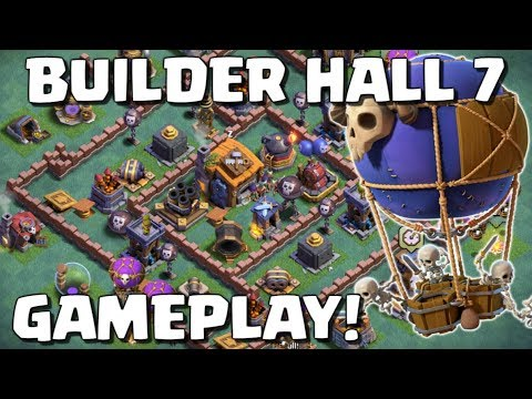 Clash of Clans | BUILDER HALL 7 UPDATE! CoC New Update Gameplay - Drop Ship Attack!