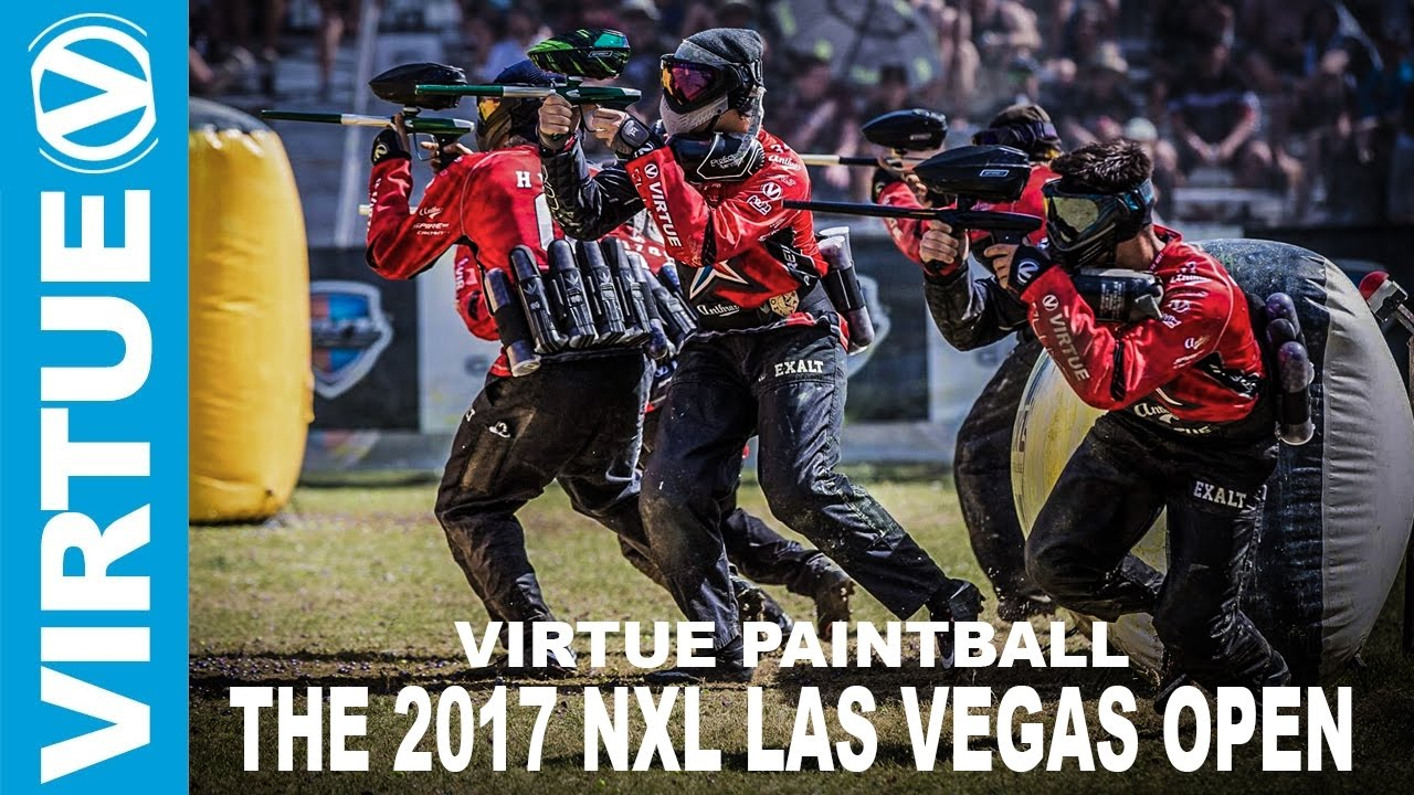 nxl paintball the 2017 las vegas open highlights by virtue