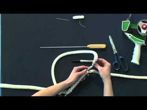Part 1 How To Make Horse Lead Rope Or Marine Spliced Loop Class 1