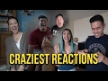 FAMILY & FRIENDS REACT TO PREGNANCY!!!
