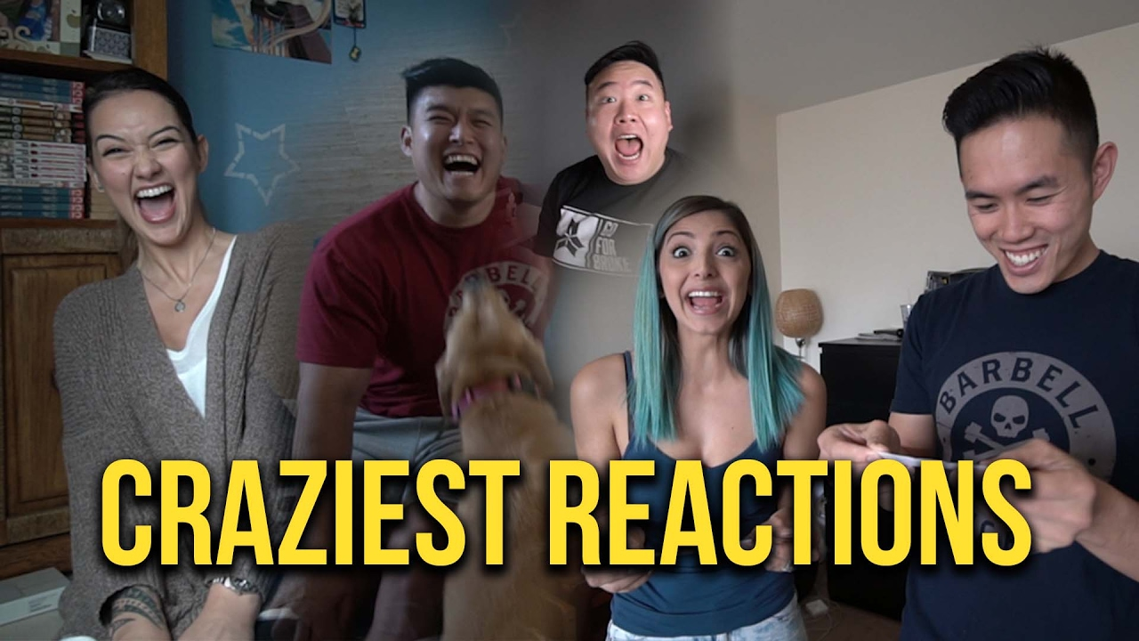 FAMILY & FRIENDS REACT TO PREGNANCY!!! - YouTube