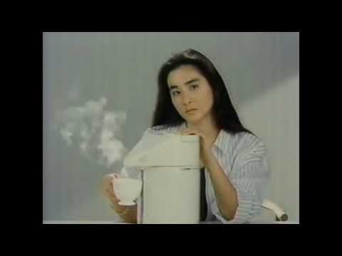 象印 ポット ミニ・デカ CM 1986  石原真理子 篠原勝之(芸術家クマさん)