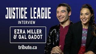Ezra Miller & Gal Gadot - Justice League Interview