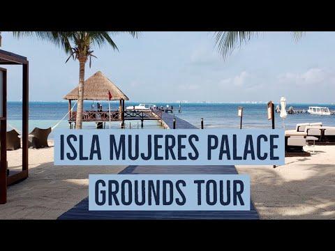 Isla Mujeres Palace Resort, Grounds Tour 2019