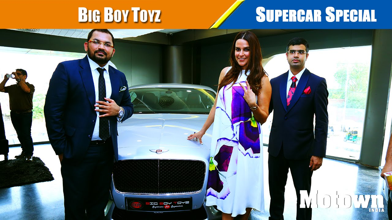 Big Boy Toyz Supercar Special Motown India Youtube