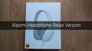 Unboxing auriculares Xiaomi Headphone Relax Version