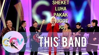 Vice Ganda challenges This Band for on-the-spot song writing  | GGV