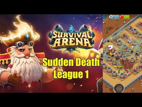 [Survival Arena] Sudden Death League 1 First Place Patch 2.3