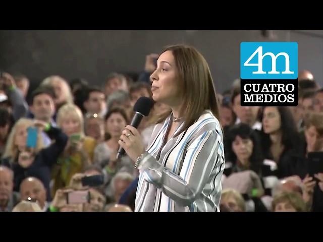 Macri y Vidal anunciaron en Quilmes un aumento del 20% para jubilados bonaerenses