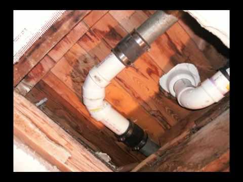 In Ceiling Drain Pipe Repair  YouTube