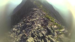 Katahdin - Knife Edge (Entire trail on video)